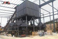 山东临沂时产600吨的花岗岩制砂项目
