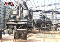 河北邯郸时产350吨的卵石制砂生产线